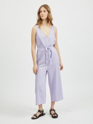 VINURIA CROPPED JUMPSUIT Lavender