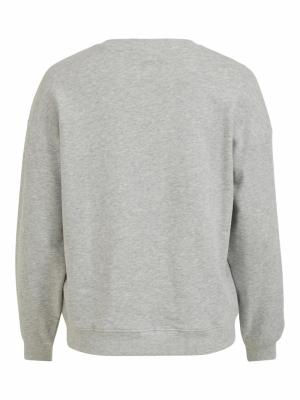VIMUSTY L-S SWEAT SHIRT Light Grey Mela