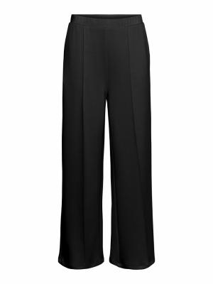 VMSILKY  H-W DETAIL PANT SB6 Black