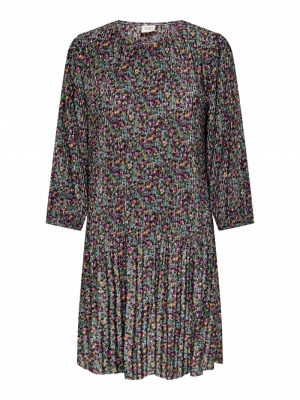 JDYBOA 3-4 SHORT DRESS JRS Smoke Green/FLO