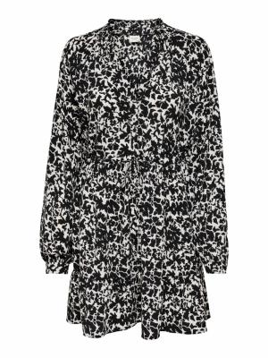 JDYROXANNE L-S SHORT DRESS WVN logo