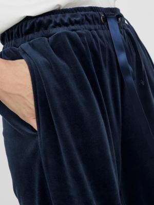 VMATHENA VELVET H-W PANT EXP Navy Blazer