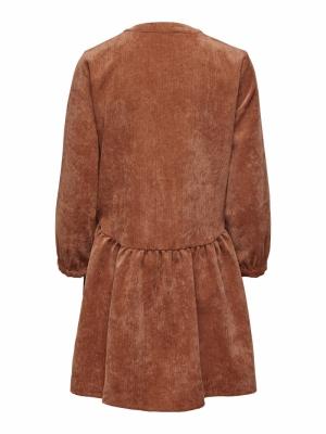 JDYULLA 7-8 DRESS WVN Ginger Bread