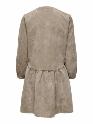 JDYULLA 7-8 DRESS WVN Portabella