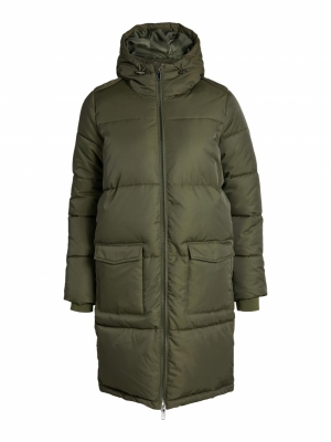 OBJZHANNA L-S LONG JACKET NOOS Forest Night