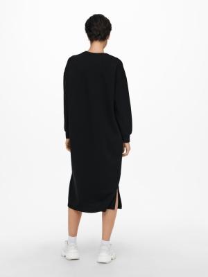 ONLADELE LIFE L-S DRESS SWT Black