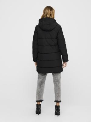 ONLDOLLY LONG PUFFER COAT OTW Black