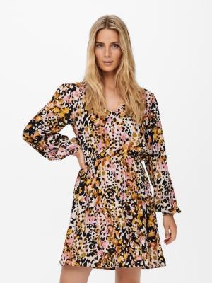 JDYCLAUDIA L-S SHORT DRESS WVN logo